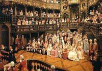 Storia dell'Opera: nell'Europa del '700